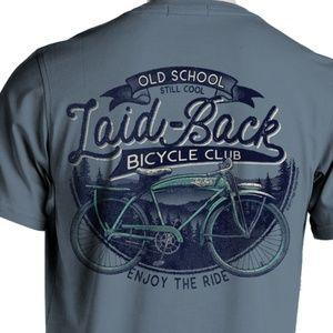 NWT Old School Bicycle Preshrunk Cotton T-Shirt